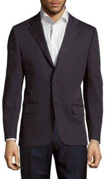 Hickey Freeman Cotton Button-Front Jacket