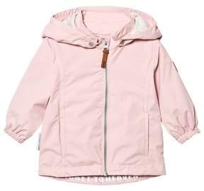 Ticket to Heaven Peachskin Rose Komma Jacket With Detachable Hood