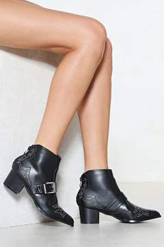 Nasty Gal This Stud Be Love Western Boot