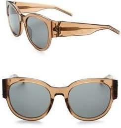 Saint Laurent Oversized Logo Sunglasses