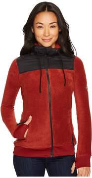 686 Flo Polar Zip Fleece Hoodie Women's Sweatshirt