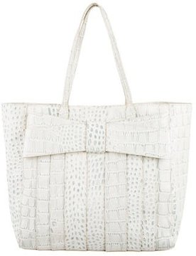 ZAC Zac Posen Embossed Leather Tote