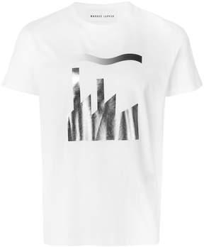 Markus Lupfer foil print Alex T-shirt