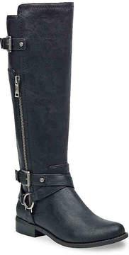 G by Guess Women's Herly Wide Calf Riding Boot