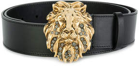 Alberta Ferretti lion buckle belt