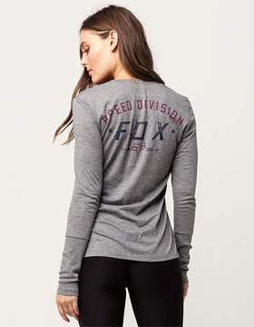 Fox Ground Fog Womens Tee