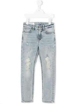 Dondup Kids stonewashed skinny jeans