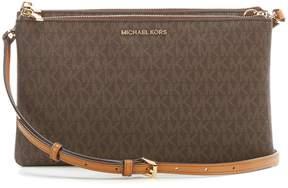 MICHAEL Michael Kors Adele Double-Zip Cross-Body Bag