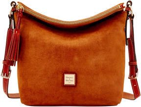 Dooney & Bourke Suede Small Dixon - AMBER - STYLE