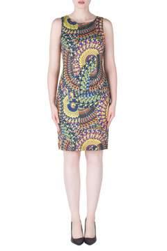 Joseph Ribkoff Sequined Mandala Dress
