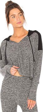 Beyond Yoga Cut and Run Cropped Hoodie