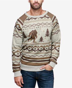 Lucky Brand Men's Bigfoot Geo-Stripe Sweater