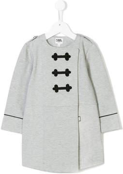 Karl Lagerfeld wrap tunic
