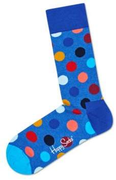 Happy Socks Unisex Polka-Dot Socks