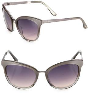 Tom Ford Women's 57MM Flash Lens Pilot Sunglasses