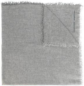 Ermanno Scervino frayed edges scarf