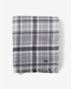Express gray plaid scarf