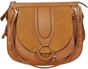See by Chloe P10 Large Leather Shoulder Bag
