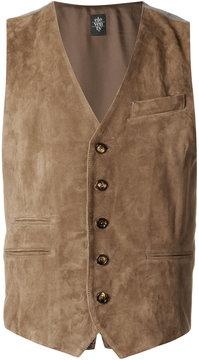 Eleventy welt pockets waistcoat