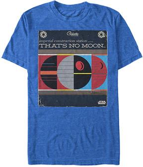 Fifth Sun Royal Heather 'That's No Moon' Retro Record Tee - Men