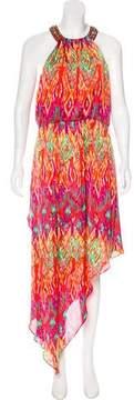 Laundry by Shelli Segal Printed Asymmetrical Dress