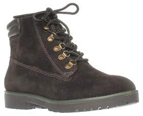 Lauren Ralph Lauren Lauren by Ralph Lauren Mikelle Work Boots, Dark Chocolate/dark Chocolate.