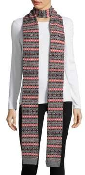 RED Valentino Embroidered Wool Scarf