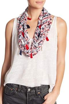 Collection XIIX Stripe Star Infinity Scarf