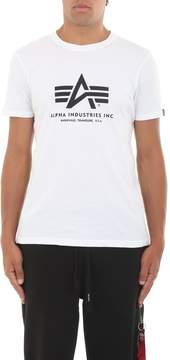 Alpha Industries Basic Teewhite