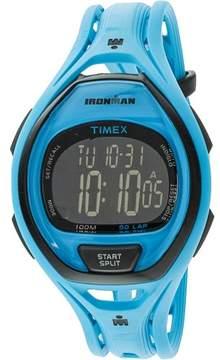 Timex Ironman TW5M01900 Blue Resin Quartz Sport Watch