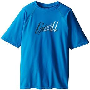 O'Neill Kids - 24-7 Tech Short Sleeve Crew Kid's Swimwear