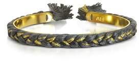 Aurelie Bidermann Women's Black Cotton Bracelet.