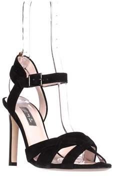 Sarah Jessica Parker Cameron Strappy Sandals, Black.