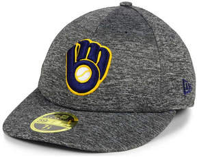 New Era Milwaukee Brewers Shadowed Low Profile 59FIFTY Cap