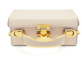 Mark Cross Grace Small Saffiano Leather Box Bag - Womens - Ivory
