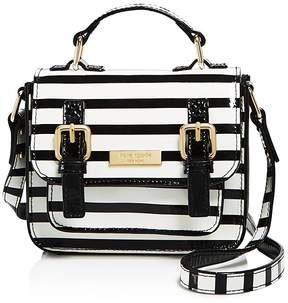 Kate Spade Girls' Patent Leather Striped Scout Bag