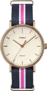 Timex Women's Weekender Fairfield Nylon Strap Watch TW2P91500