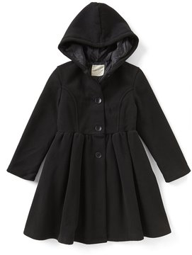 Copper Key Big Girls 7-16 Button-Front Fleece Swing Coat