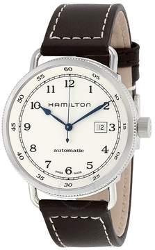 Hamilton Khaki Navy Pioneer Automatic Silver Dial Men's Watch