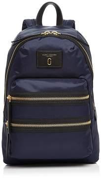 Marc Jacobs Biker Nylon Backpack - BLACK/SILVER - STYLE
