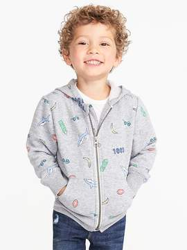 Old Navy Printed Fleece Hoodie for Toddler Boys