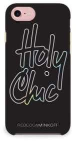 Rebecca Minkoff Holy Chic Holographic Foil Double Up iPhone 7 Case
