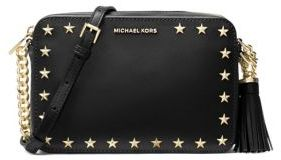 MICHAEL Michael Kors Ginny Leather Camera Bag - DAMSON - STYLE