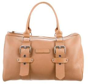 Longchamp Leather Duffel Bag w/ Tags - BROWN - STYLE