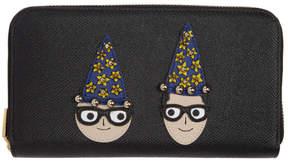 Dolce & Gabbana Black Magician DGFamily Wallet