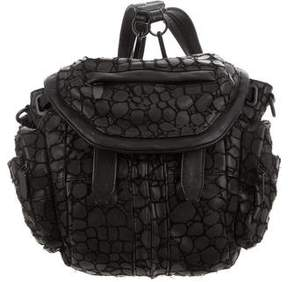Alexander Wang Textured Marti Backpack