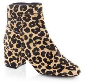 Cole Haan Arden Leopard-Print Calf Hair Booties