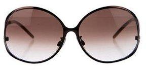 Roberto Cavalli Oversize Gradient Sunglasses