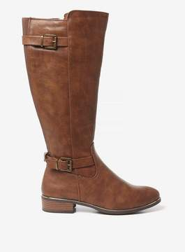 Dorothy Perkins Brown 'Trinity' Knee High Boots