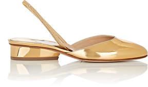 Paul Andrew Women's Celestine Specchio Leather Slingback Flats